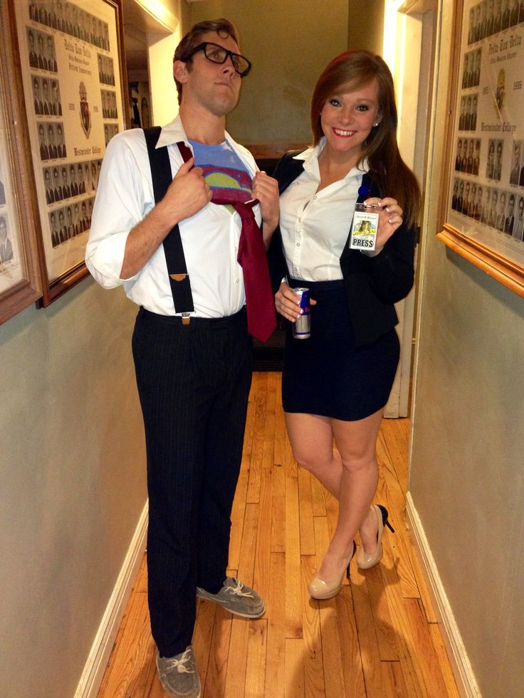Superman and Lois Lane couples halloween costume