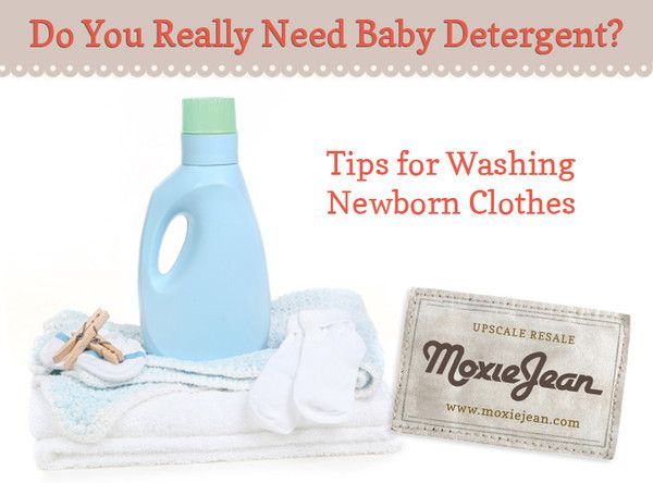 How Do You Wash Baby Clothes?