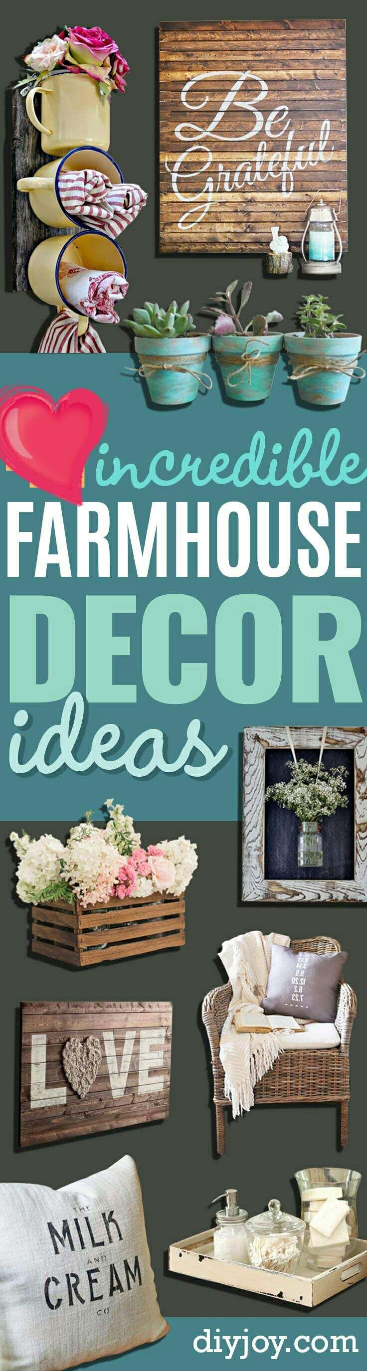 Farmhouse Decor Inspirations