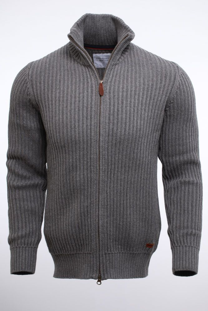 Peak Performance Carter Zip Cardigan Gråmelerad 1200kr Gatt XL
