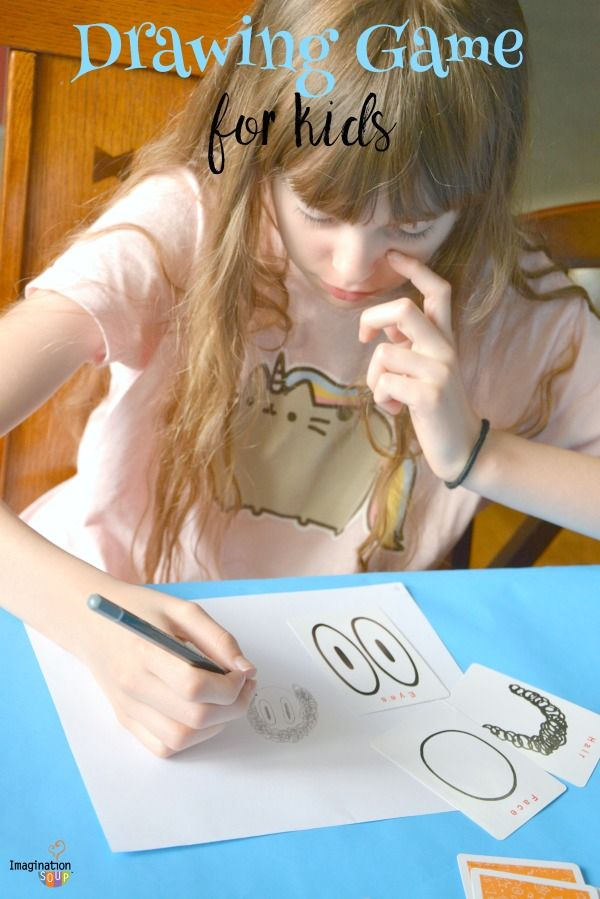 super fun drawing game for kids: Pick and Draw