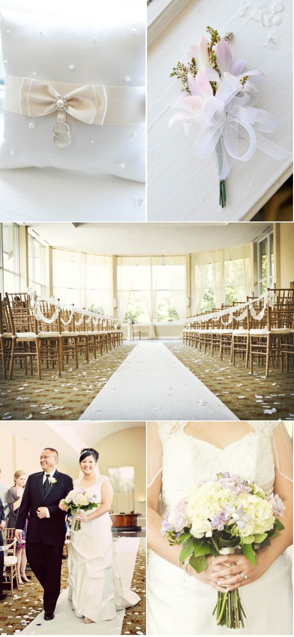 Afternoon Wedding at the Piedmont Room featured on Style Me Pretty!