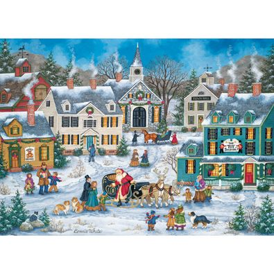228 best Jigsaw Puzzles images on Pinterest | Christmas ...