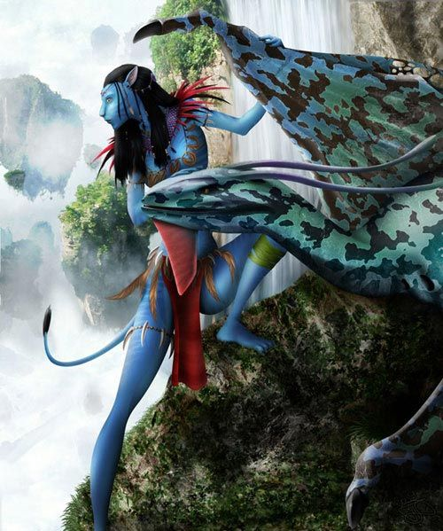 40 Inspired Avatar Movie Artworks Design | Smash Materials
