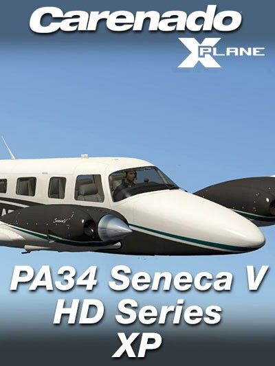 CARENADO : PA34 Seneca V HD Series XP Special Features Version 1.2 Full Xplane 10.5 and X-Plane 11 compatible Carenado G500 compatible with X-Plane GNS430 (included) Optimized for XP10.5x. X-Plane 64 bits required. All-new sound architecture. Volumetric side view prop effect.  Features Carenado G500     Terrain Awareness map mode      Different declutter levels     Advance menus and cursor with scroll wheel, click/hold or /drag     Crisp, vector-based water data     Pop-up windows can be…