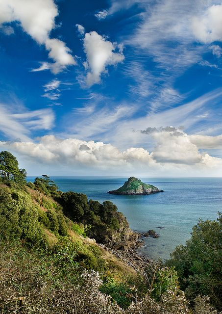 Thatcher Rock, Torquay, Devon, England (by Colin Cadle)