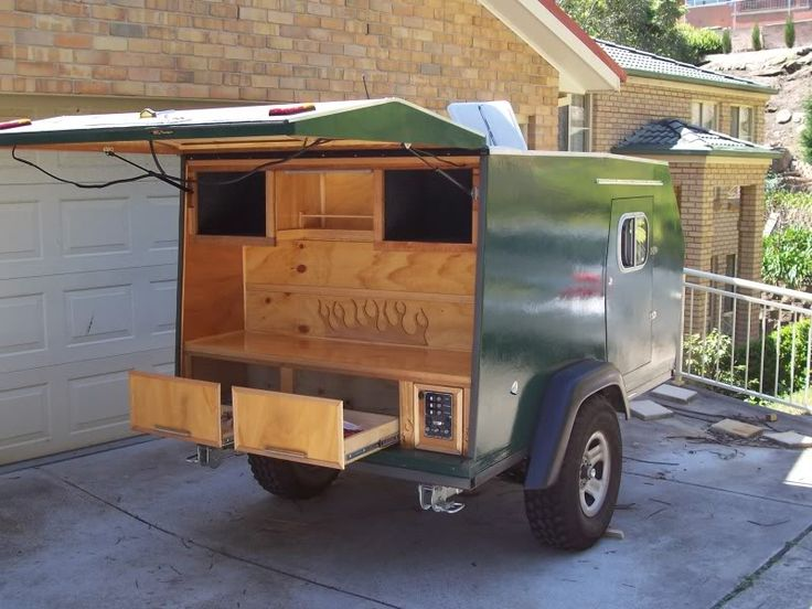 how to build a off road camper trailer