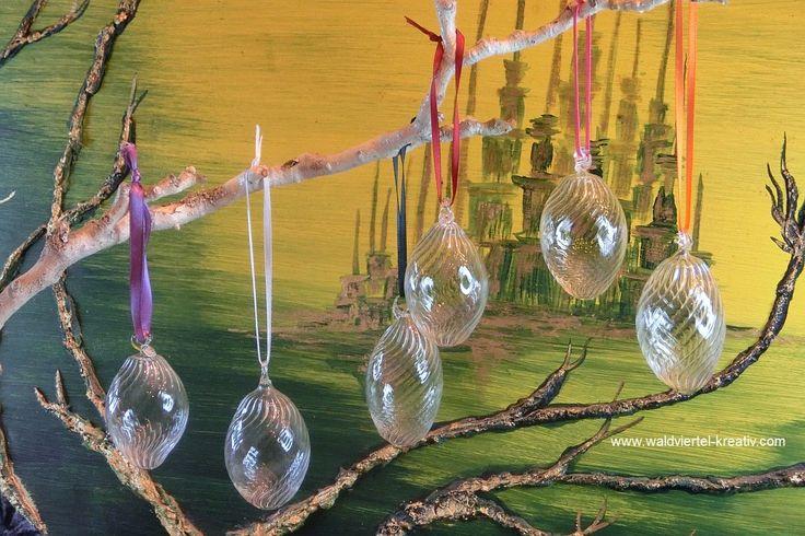 Ostereier einfärbig - Waldviertel-Kreativ