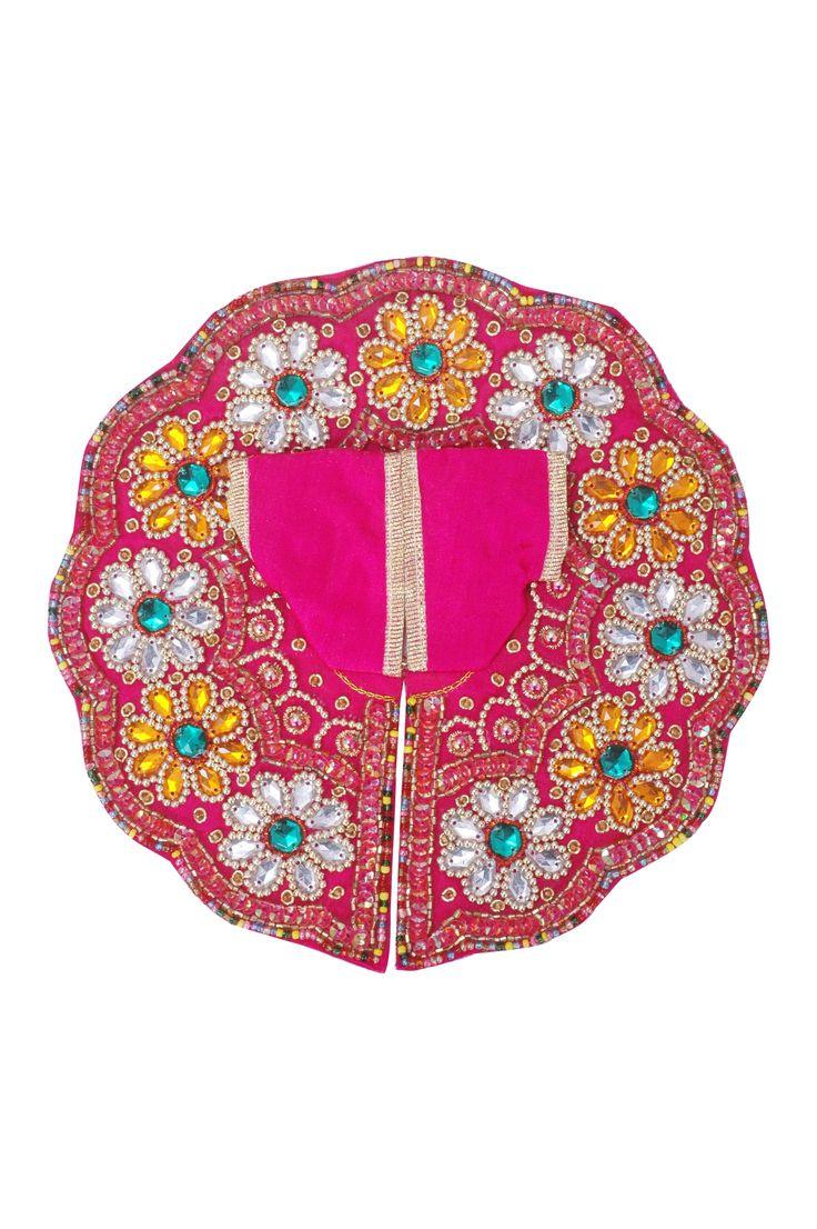 Magenta Round Dress