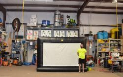 Rent an Inflatable Movie Screen in Loganville Georgia - Affordable Moonwalk Rentals