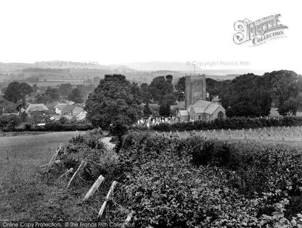Old Cleeve, The Church And Village 1930, from Francis Frith