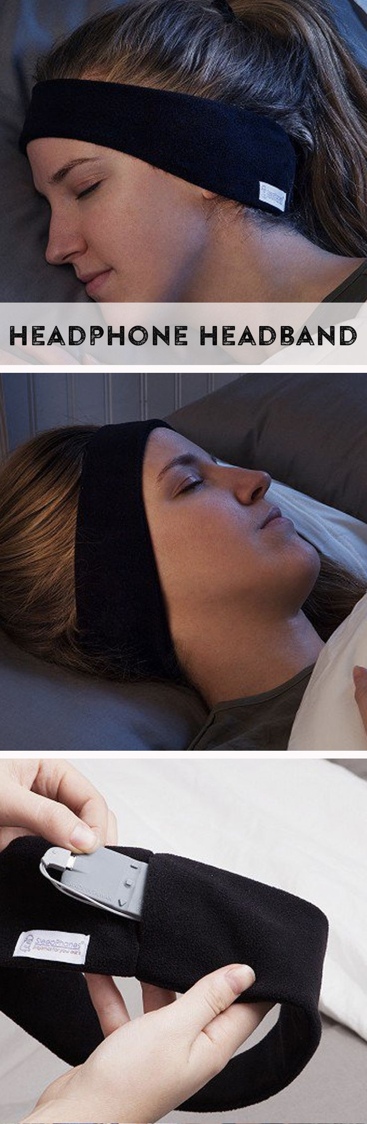 Lull yourself to sleep or create an ultra-comfortable listening experience anywhere with soft headband headphones. d'autres gadgets ici : http://amzn.to/2kWxdPn