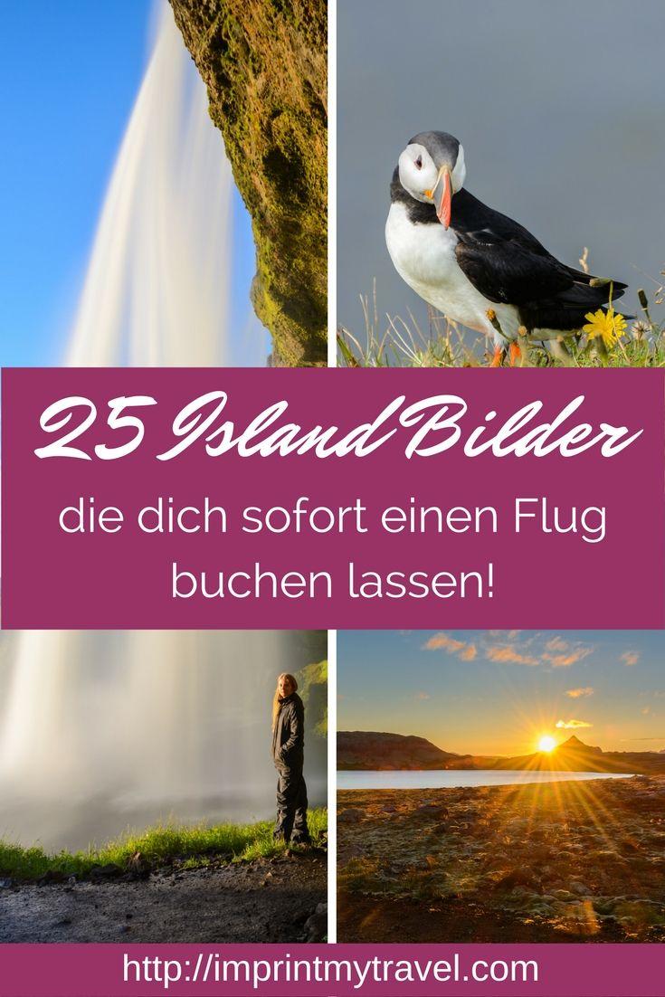 25 atemberaubende Island Bilder. Fototagebuch meiner 12 tägigen Island Rundreise. Wasserfälle, Fjorde, Sonnenuntergänge, Vulkane, Papageientaucher, Pferde und vieles mehr.