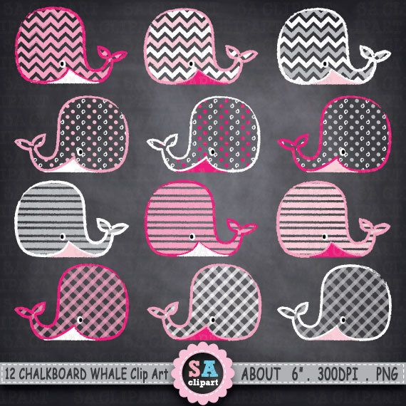 chalkboard whale clip art   quot whales clip art quot   pink grey pin up girl clipart images vintage pin up girl clipart