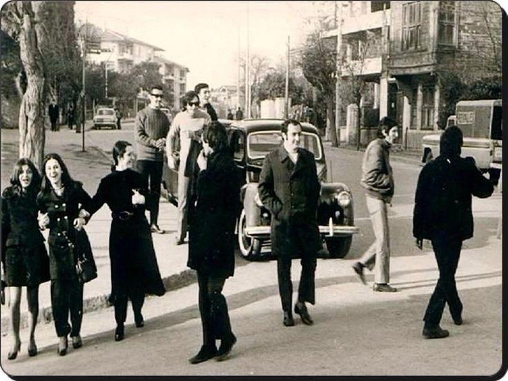 1970lerde Kadıköy'de... #istanlook