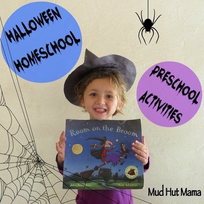 Room on the Broom: Halloween Activities for Preschoolers - Mud Hut Mama