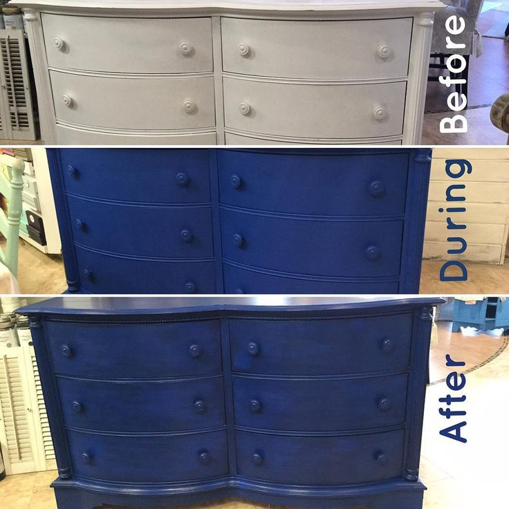 Dark Blue Chalk Paint Kitchen Cabinets: 1000+ Ideas About Dresser In Kitchen On Pinterest