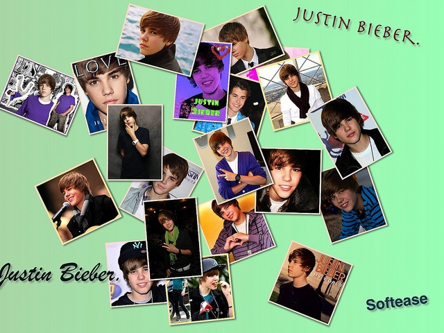 Collage-Justin  March 1st is Justin Bieber's birthday. Happy Birthday!  Collage with Collage Maker:  itunes.apple.com/us/app/collage-maker/id434548368?mt=12