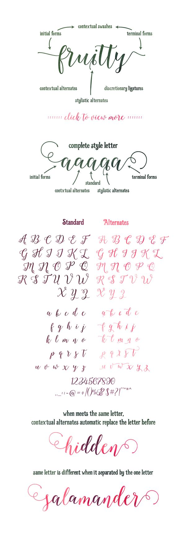 Octavia Script - Modern Calligraphy Typefaces on Behance