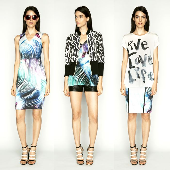 DREAMY LUXE DRESS   MYSTERIOUS DREAM JACKET   TAKE ME AWAY TOP   URBAN GLAM SHORTS   LOVE OF LIFE TOP   ROMANTIC ESCAPE SKIRT  