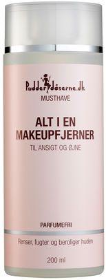 Pudderdåserne.dk Musthave - Makeup Remover & Cleansing Water