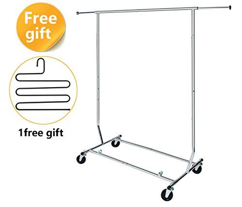 HLC Collapsible Clothing Rack Commercial Grade ** Check out this great product.