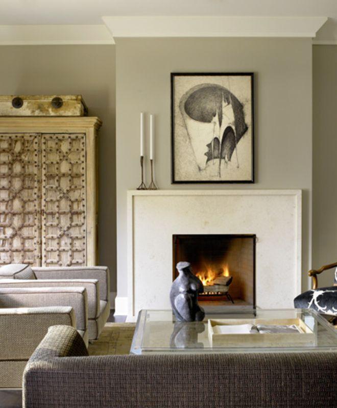Michael del piero good design portfolio interiors contemporary eclectic traditional transitional living room: