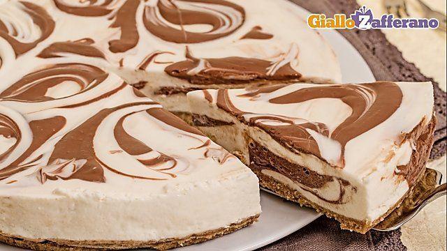 Cheesecake marmorizzata