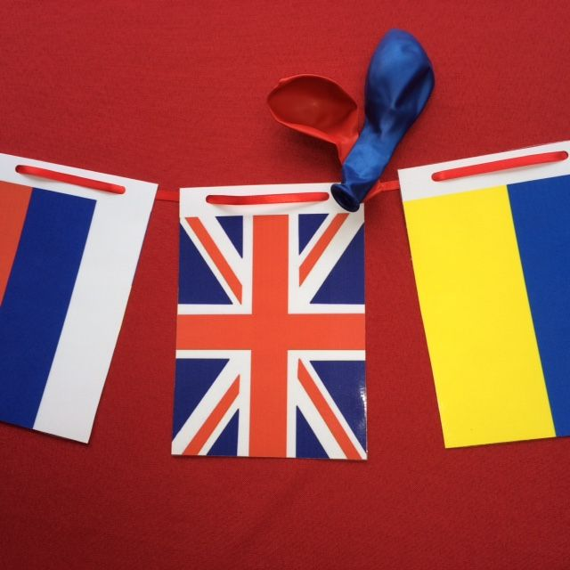European Flag Bunting - great for a Eurovision Party!
