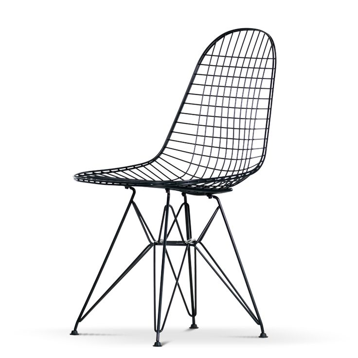 Eames Wire Chair DKR Black | Vitra | Olsson & Gerthel