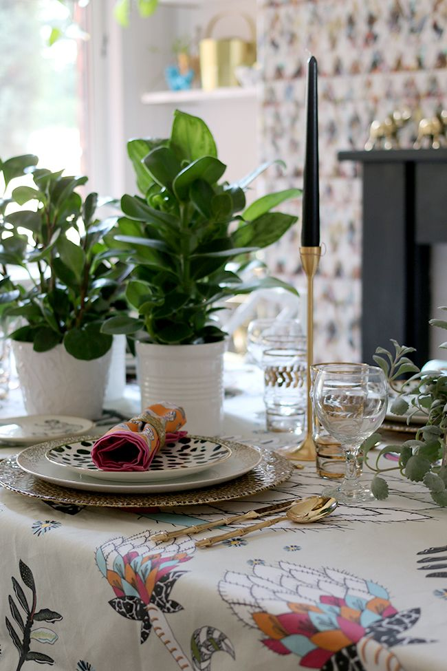 Halsted Design Summer Table Setting
