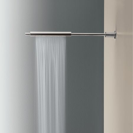 Zen Cylinder Wall Mount Shower Rose