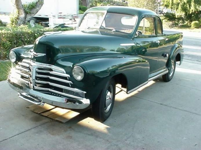 Auto Parts Eugene >> 1948 Chevy Ute | Classic Cars | Pinterest | Cars, Custom muscle cars and Classic trucks
