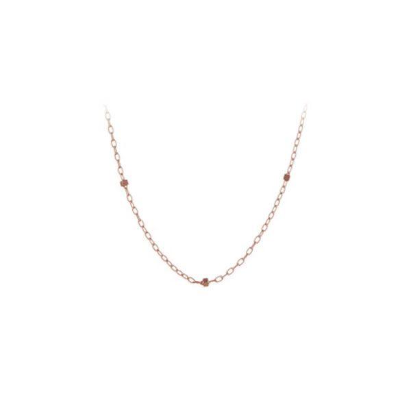 Pernille Corydon halskæde, Saturn Halskæde, Rosaguld  #superlovelove