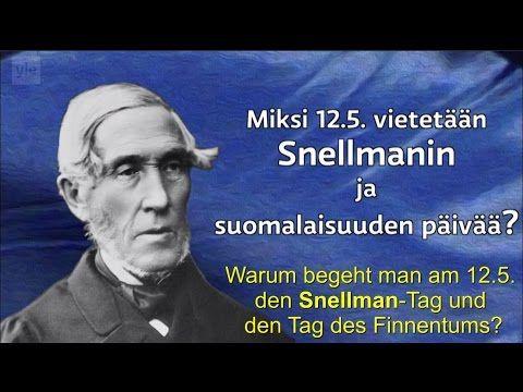 J.V. Snellman in 2 Minuten: Einer der bedeutendsten Staatsmänner Finnlands - YouTube