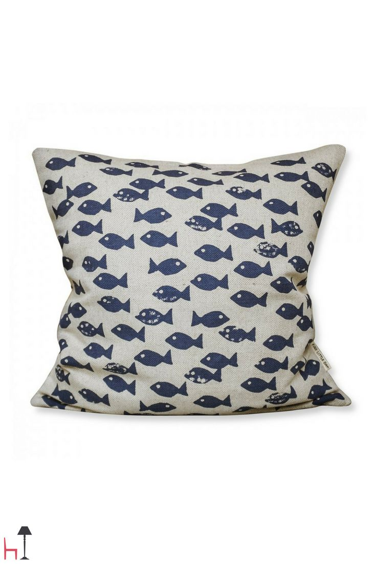 This cushion pattern by Fine Little day is inspired by the West Coast of Sweden.