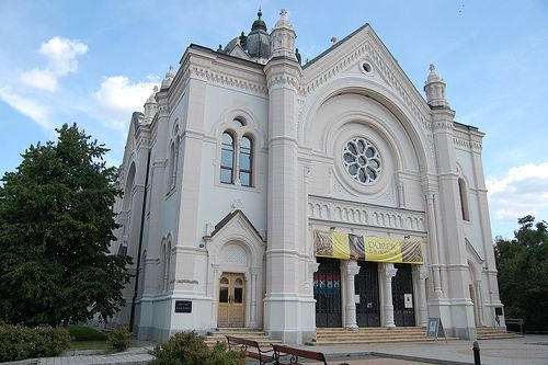 Szolnok, Old Synagogue, West View