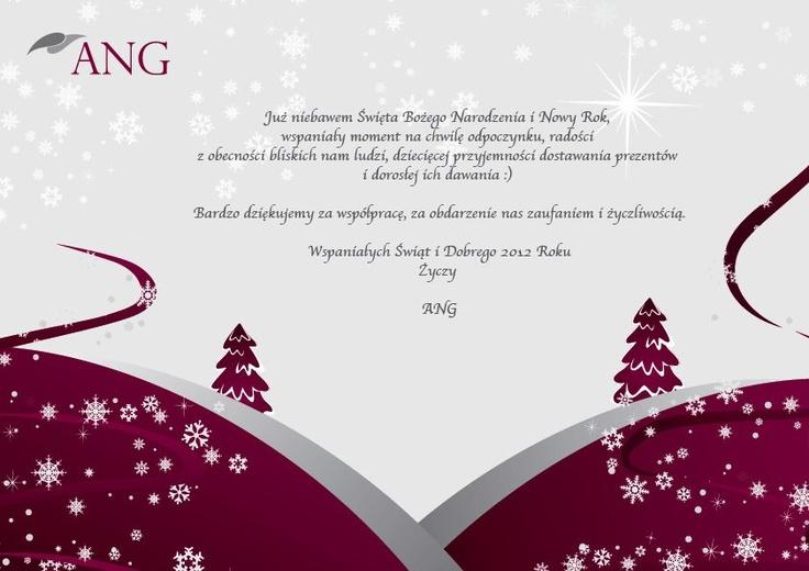 Wszystkim naszym przyjaciołom życzymy Pogodnych i Wesołych Świąt! :) - grudzień 2011