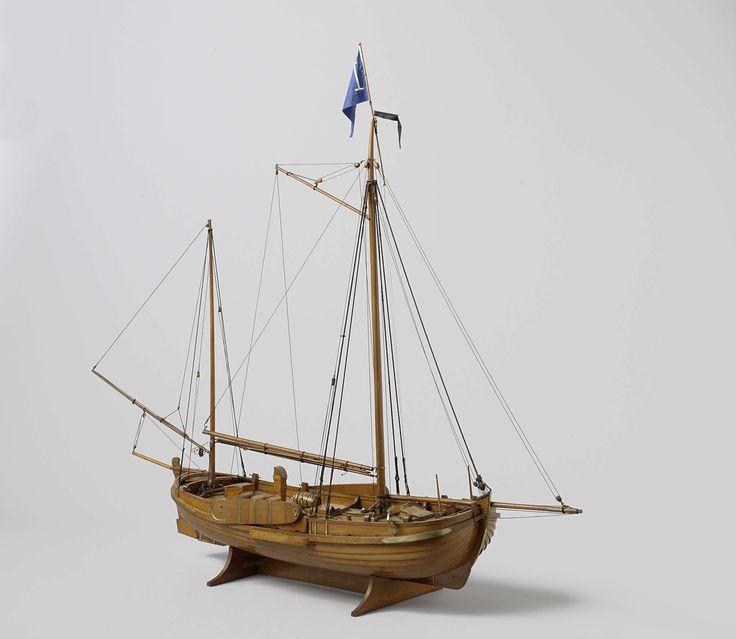 Model of a pilot-vessel, Cornelis over de Linden, Rijkswerf Willemsoord, 1836 - 1837
