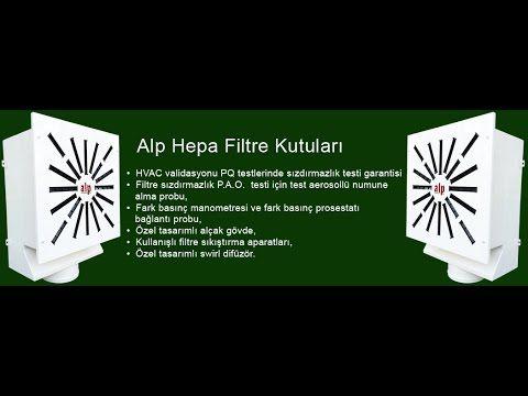 ALP HEPA FİLTRE KUTULARI