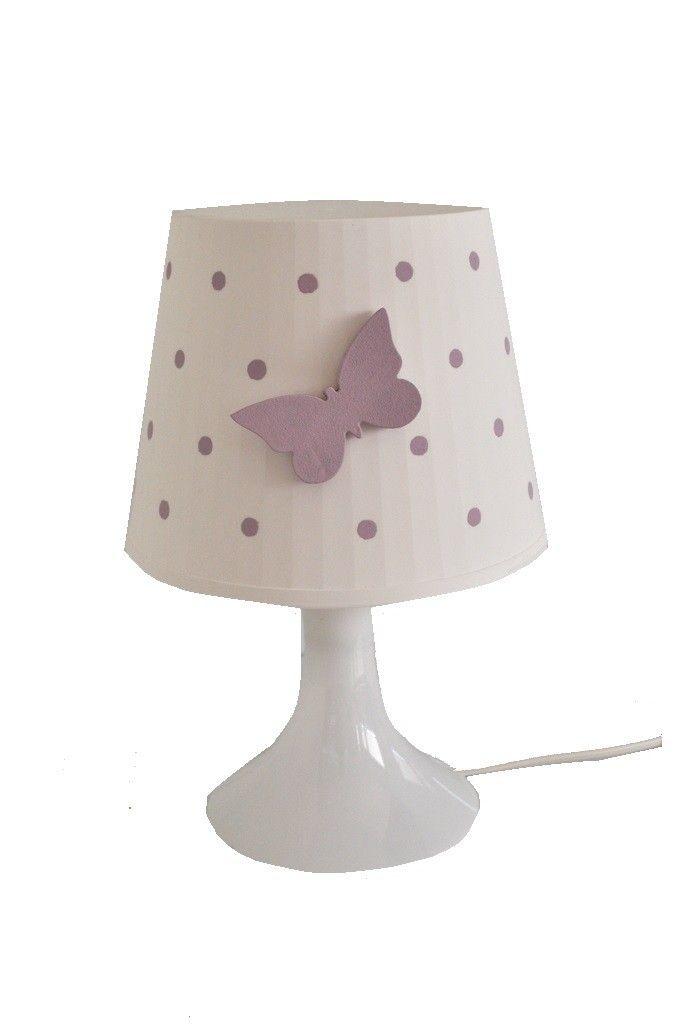 Butterfly lampka nocna z motylkiem