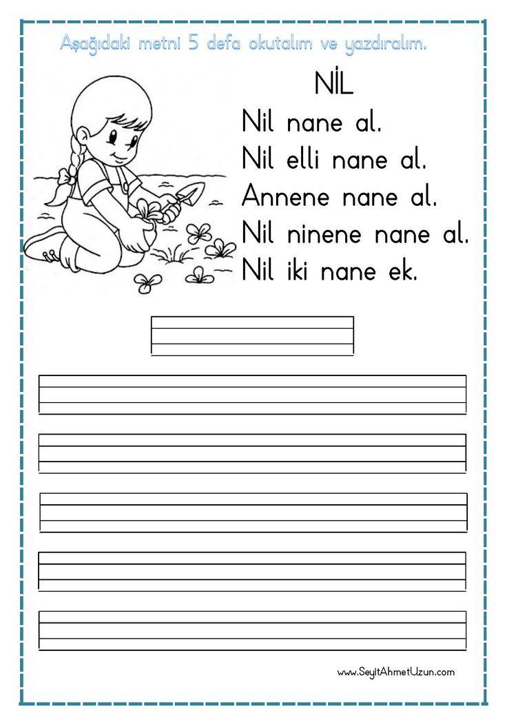 """""""Nil"""" Okuma ve Yazma Metni pdf formatında eklenmiştir. İndirme butonuna tıklayarak dosyayı indirebilirsiniz. Kolay gelsin iyi çalışmalar. Sitedeki Tüm çalışmalarımı kendi emeğimle özgün olarak hazırlıyorum….."""