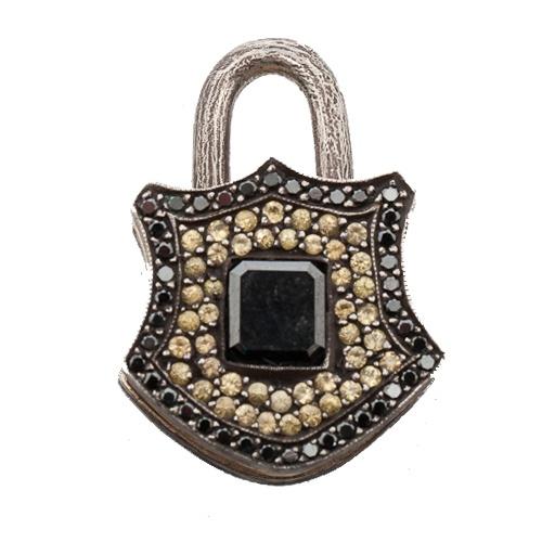 Sevan Bicakci, black diamond lock   www.dresscodebygita.com