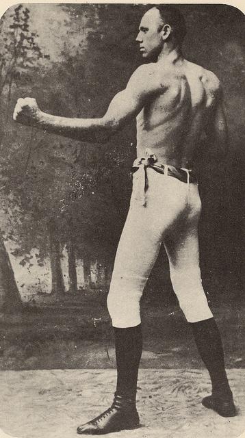 Bob Fitzsimmons, Pugilist c1897, Australia