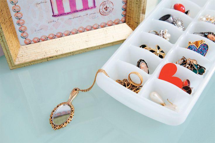 Dez modos charmosos de organizar as bijus - Casa.com.br: