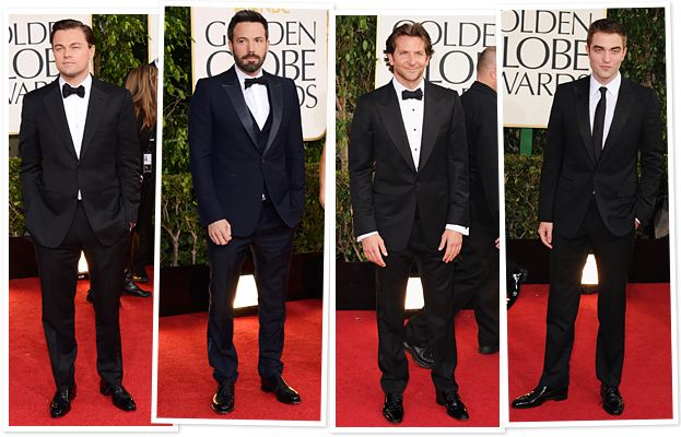 Image result for ben affleck tuxedo golden globe