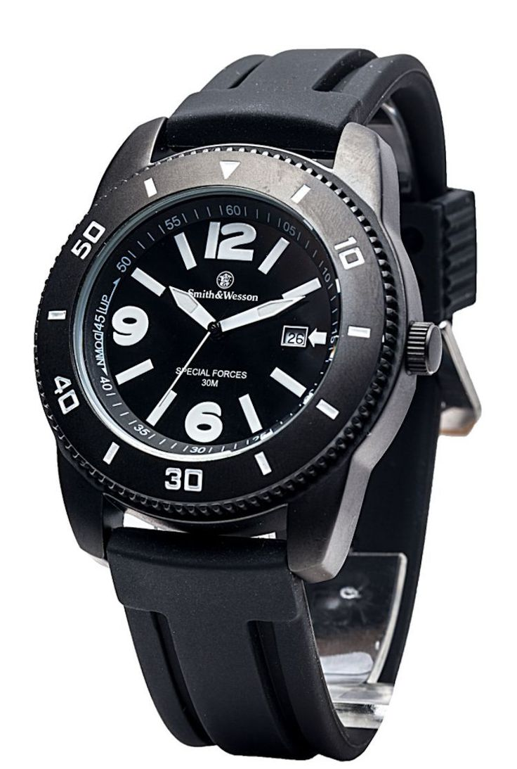 Smith and Wesson Military Paratrooper Special Forces Sport Watch | eBay