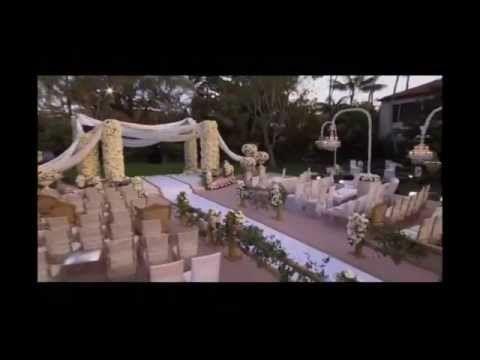 Four Seasons Resort The Biltmore Santa Barbara - The Bachelor: Sean and Catherine's Wedding - YouTube | Monte Vista Lawn