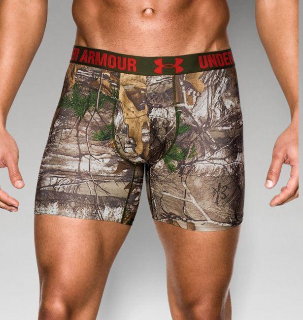 Men's UA Realtree Camo Boxerjock® Boxer Briefs  #Realtreecamo
