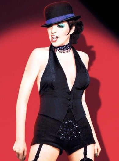 Liza Minelli as Sally Bowles in Cabaret.